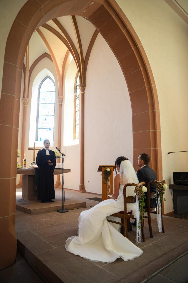 Hochzeit kirche gebet