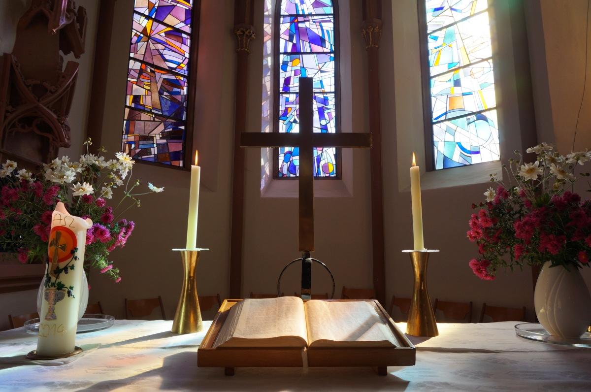 Kirche Weisweil Altar